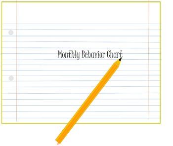 Behavior Documentation Binder. All ages