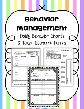 Behavior Documentation Forms