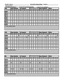 Behavior Documentation for Entire Year on One Page