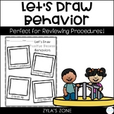 Behavior Drawing Activities - Back to School