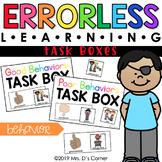 Behavior Errorless Learning Task Boxes (2 task boxes included!)