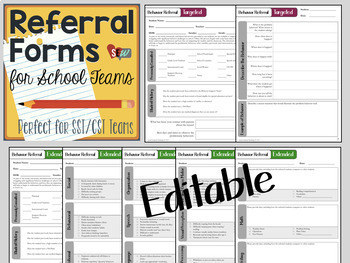 Behavior Evaluation Bundle: Special Ed and Functional Behavior Assessments (FBA)