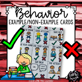 Behavior Example Non-Example Visual Supports for Early Childhood