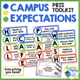 PBIS Campus Behavior Expectation Plan