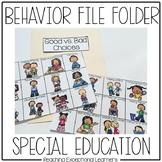 Behavior File Folder Activity