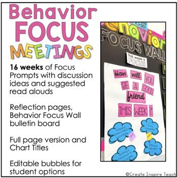 Behavior Focus Meetings