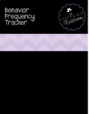 FREE Behavior Frequency Tracker