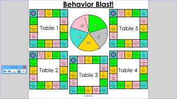 Behavior Game Board Classroom Management