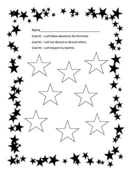 Behavior Goal Chart