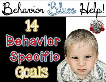 Behavior Goal Charts {Behavior Specific Goal Charts}