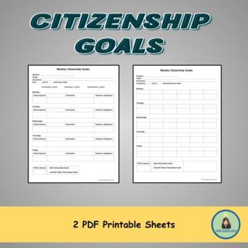 Behavior Goals Chart