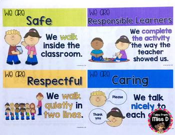 Behavior Goal Posters
