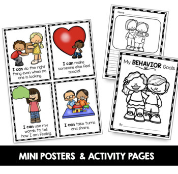 Behavior Goals and Awards - Social Skills and Classroom Rules and Expectations