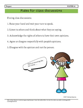 Behavior Guidance for a Respectul, Caring Classroom Grade 3 - 4 BUNDLE