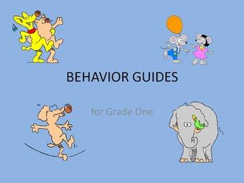 Behavior Guide for the early years
