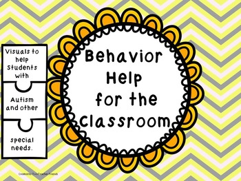 Behavior Help for Students with Autism and Special Needs