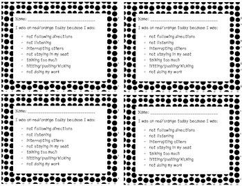 Behavior Home Notes