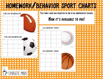 Behavior/Homework Chart