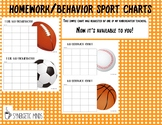 Behavior/Homework Chart