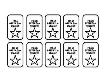 Behavior Incentive Brag Tags