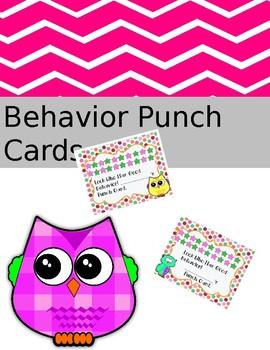 Behavior Incentive Cards