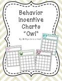Behavior Incentive Chart {Owl}