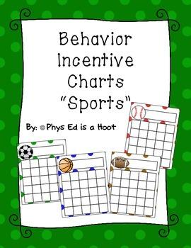 Behavior Incentive Chart {Sports}