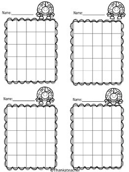Behavior Incentive Charts 10 Ink Friendly Styles Use with Stickers or Stamps