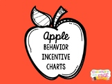 Behavior Incentive Chart / Punch Card: Apples