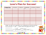 Behavior & Incentive Check In/Out Chart