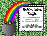 Behavior Incentive Golden Tickets - March Leprechaun Themed!