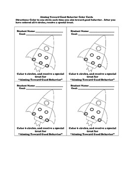 Behavior Incentive Packet and More
