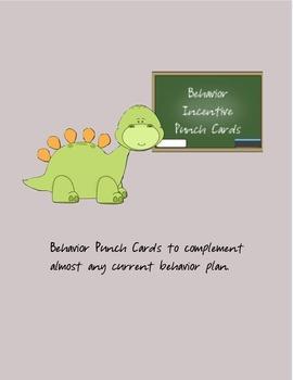 Behavior Incentive Punch Cards