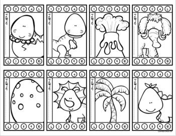 Behavior Incentive Punch Cards Classroom Management Rewards Dinosaur Dino