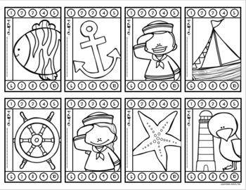 Behavior Incentive Punch Cards Classroom Management Rewards Nautical Sailing