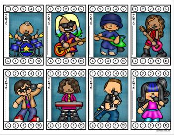 Behavior Incentive Punch Cards Classroom Management Rewards Rockstar Theme