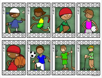 Behavior Incentive Punch Cards Classroom Management Rewards Sports Team Theme
