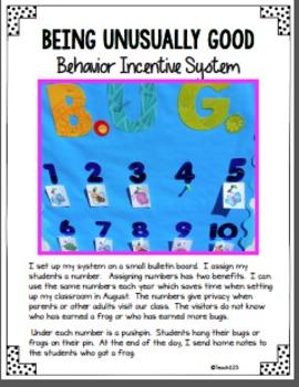Behavior Incentive System