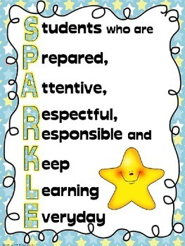 Positive Behavior Incentive Toolbox of Ideas; SPARKLE