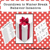 Behavior Incentive- Countdown to Winter Break/Christmas