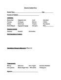 Behavior Incident Form