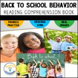 Back to School Behavior Reader for First Grade Distance Learning