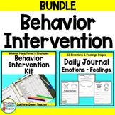 Behavior Intervention BUNDLE