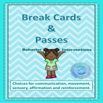 Behavior Intervention - Break Cards & Passes