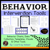 Behavior Intervention Tools {Charts, Data Collection, Temp