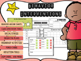 Behavior Intervention Pack with Behavior Charts, Behavior