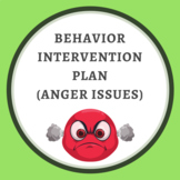 Behavior Intervention Plan (Anger Issues)
