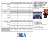 Behavior Intervention Plan - Basketball Themed