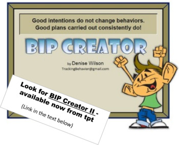 Behavior Intervention Plan Creator