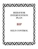 Behavior Intervention Plan - Defiant Behavior